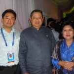 GWC CEO Sein-Way Tan with Indonesian President Yudhoyono and First Lady
